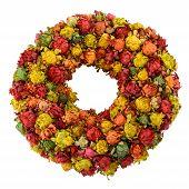 Dried Saffron Wreath