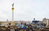 Maidan (independence) Square After The Revolution