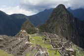 Machu Picchu And Wine Picchu