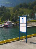 Blank Dock Marker