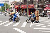 Shanghai Street Traffic