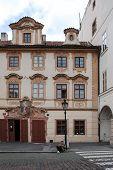 Historic House at Prague's Hradcany