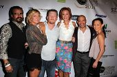 LOS ANGELES - SEP 6:  Tim Abell, Zoe Bell, Christopher Ray, Kristanna Loken, Gerald Webb, Nicole Bil