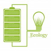 Ecologic Modern Infographic. Design Elements