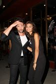 LOS ANGELES - SEP 10:  Maksim Chmerkovskiy, Zendaya Coleman at the Dance With Me USA Grand Opening a