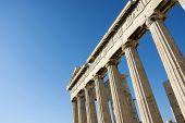 Columns In Parthenon