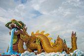Large Dragon Statue