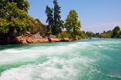 Manavgat River In Turkey