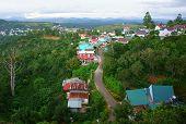 Dalat Suburbs, Vietnam Country