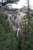 Yellowstone Nationalpark Wasserfall