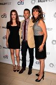 LOS ANGELES - SEP 8:  Rebecca Rittenhouse, Wilson Cruz, Rina Mimoun at the Paley Center For Media's