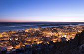 night Siberian city