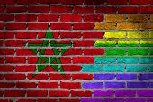 Dark Brick Wall - Lgbt Rights - Morocco