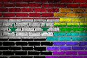 Dark Brick Wall - Lgbt Rights - Syria