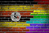 Dark Brick Wall - Lgbt Rights - Uganda