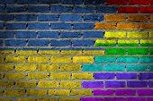 Dark Brick Wall - Lgbt Rights - Ukraine
