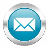 email internet blue icon