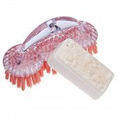 Cleaning Brush With Pet Soap