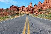 Arches Scenic Drive