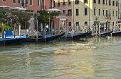 Gondolas Parked