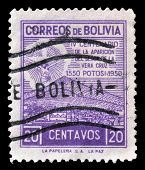 Bolivia stamp
