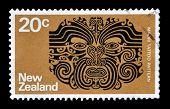 Maori tattoo stamp