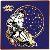 Horoscope.Aquarius zodiac sign