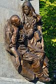 Monument To The Heroes Of The First World War (fragment). Kaliningrad, Russia