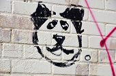 Street art Montreal bear