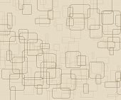 Irregular Square Texture In Brown Background