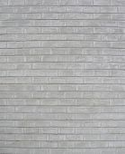 Portion Of A Brick Wall Painted White
