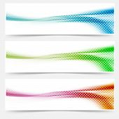 Bright Liquid Swoosh Wave Headers Footers Banners