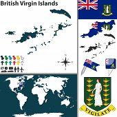 Map Of British Virgin Islands