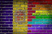 Dark Brick Wall - Lgbt Rights - Andorra