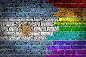 Dark Brick Wall - Lgbt Rights - Argentina