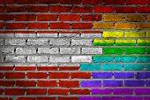 Dark Brick Wall - Lgbt Rights - Austria