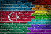 Dark Brick Wall - Lgbt Rights - Azerbaijan
