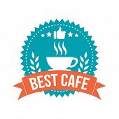 Simple Best Cafe Banner Tag