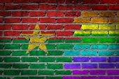 Dark Brick Wall - Lgbt Rights - Burkina Faso