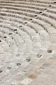 An amphitheatre seating on Cyprus