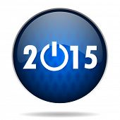 2015 internet blue icon