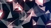 foto of plexus  - Abstract digital background with geometric particles - JPG