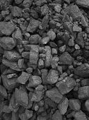 Pile Of Coal  Background