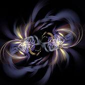 Colour Abstract Art Nebula , Backdrop .