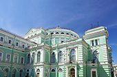 The Mariinsky Opera And Ballet Theater In Saint Petersburg