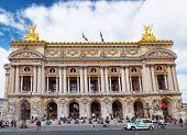 Paris - September 18:palais Or Opera Garnier & The National Academy Of Music In Paris September 18,