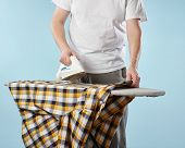 Household Chores, Ironing Man