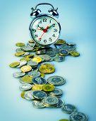 Coins And Alarmclock