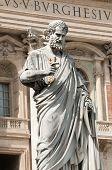 Sculpture Of Saint Peter, Vatican