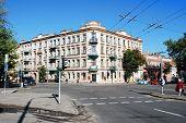 Vilnius Town Old Residential House On September 24, 2014